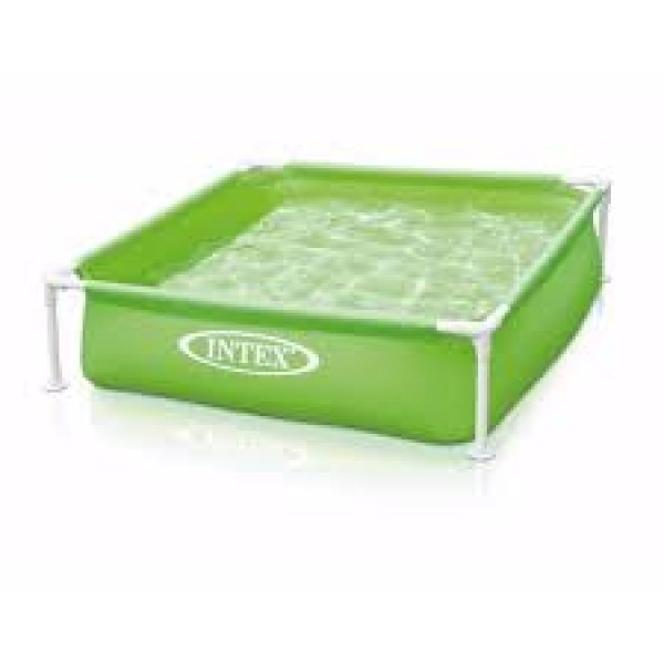 Bildergebnis für Intex Mini Frame Pool Grün 122 x 122 cm